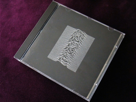 Joy Division 'Unknown Pleasures' original UK CD jewel case - front.