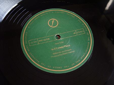 New Order - Ceremony - 1981 UK 12 inch version 1 original label side B.