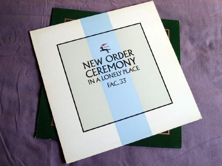 New Order - Ceremony - 1981 UK 12 inch version 2 original front sleeve design.
