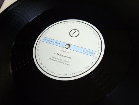 New Order - Ceremony - 1981 UK 12 inch version 2 original label side B.