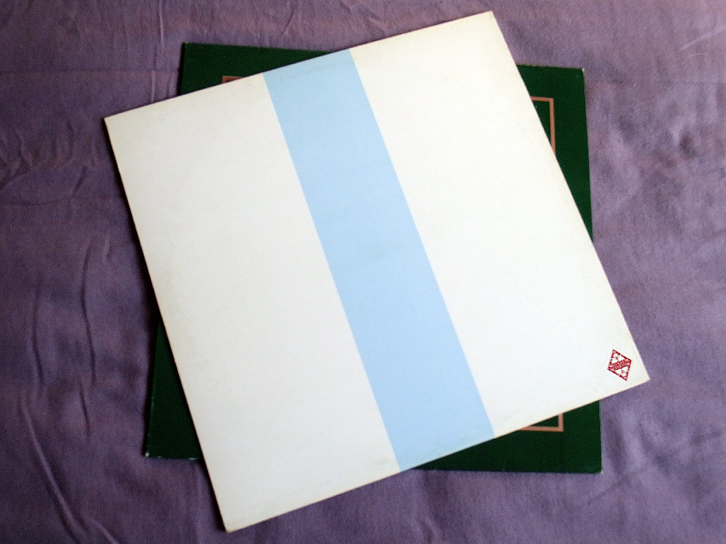 New Order - Ceremony - 1981 UK 12 inch version 2 original rear sleeve design.
