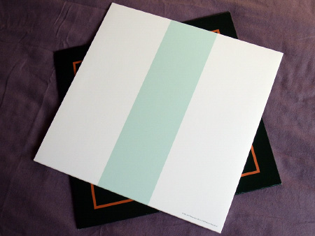 New Order - Ceremony - 2019 UK 12 inch version 2 re-issue rear sleeve design.