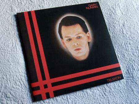Gary Numan - 'Telekon' 2015 Double LP re-issue front cover design