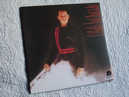Gary Numan - 'Telekon' 2015 Double LP re-issue rear cover design