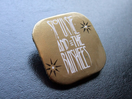 Siouxsie and the Banshees 'Fireworks' era badge