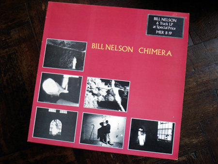 Bill Nelson - 'Chimera' UK mini album front cover design