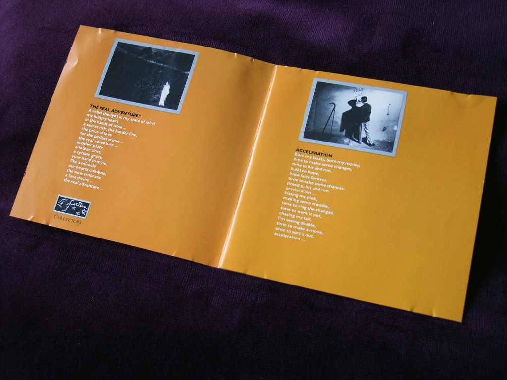Bill Nelson - 'Chimera/Savage Gestures for Charms Sake' UK CD - inner booklet spread 3