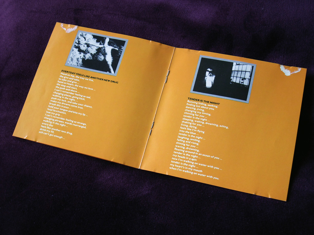Bill Nelson - 'Chimera/Savage Gestures for Charms Sake' UK CD - inner booklet spread 1