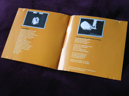 Bill Nelson - 'Chimera/Savage Gestures for Charms Sake' UK CD - inner booklet spread 2