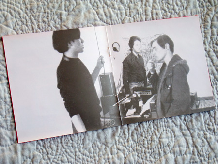 The Golden Hour of the Future - inner booklet spread 3
