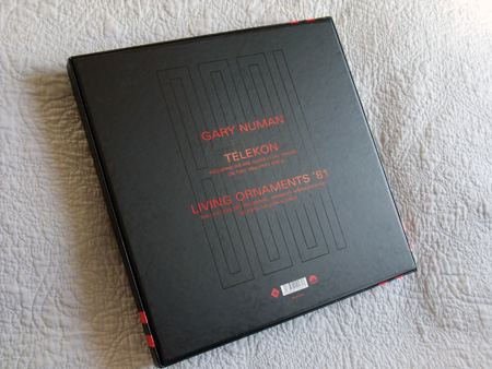 Gary Numan '80/81' Box Set - rear
