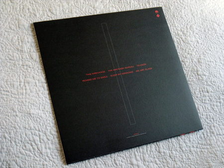 Gary Numan '80/81' Box Set - Disc 1 - 'Telekon' sleeve rear cover.