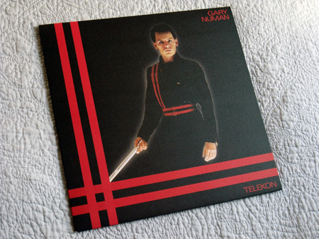 Gary Numan '80/81' Box Set - Disc 2 - 'Telekon' sleeve front cover.