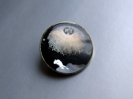 Public Image Ltd 'Mirror' design button badge