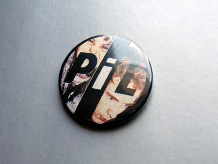 Public Image Ltd button badge, unknown era