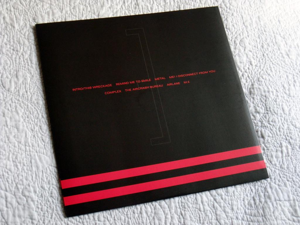 Gary Numan '80/81' Box Set - Disc 3 - 'Living Ornaments 81' inner sleeve rear