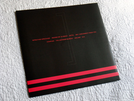 Gary Numan '80/81' Box Set - Disc 3 - 'Living Ornaments 81' inner sleeve rear