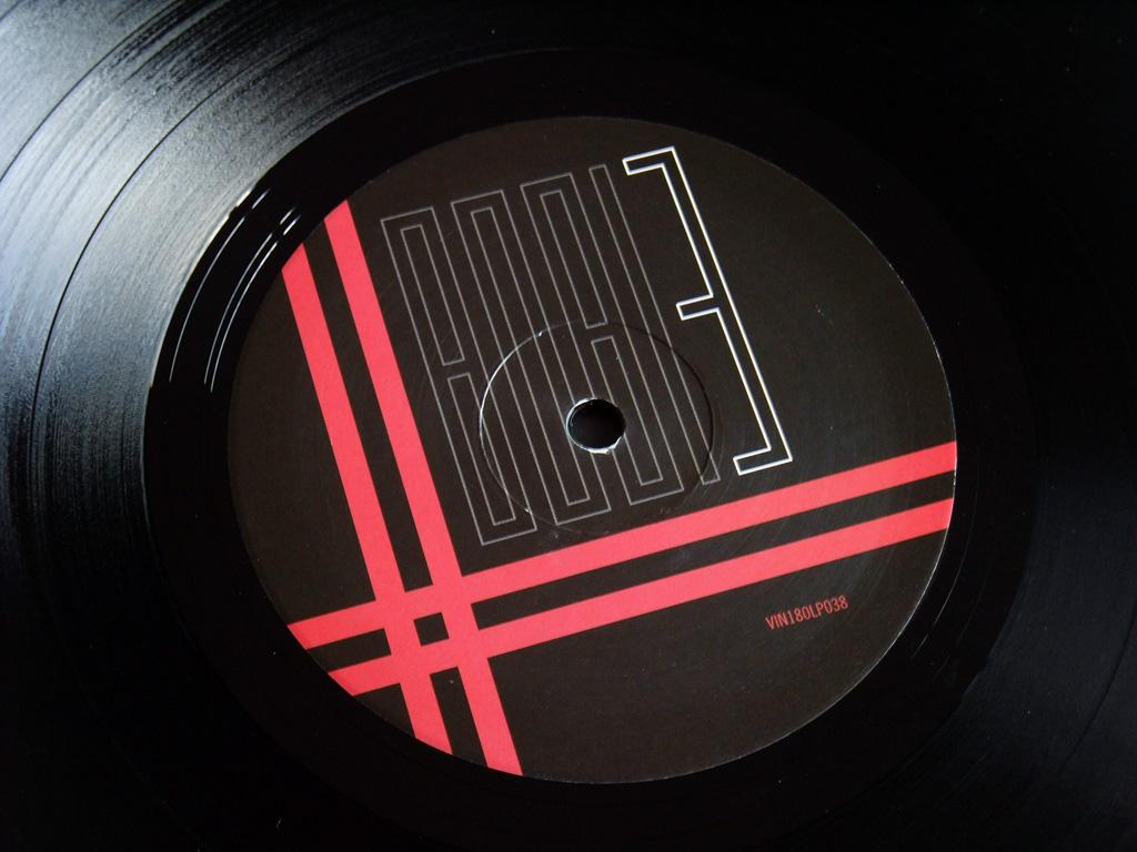Gary Numan '80/81' Box Set - Disc 3 - 'Living Ornaments 81' label side 1