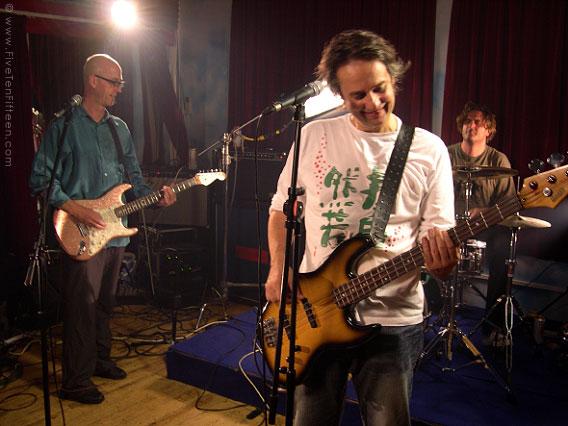 Matthew Seligman and Snail, Shepherds Bush Rehearsal Studio, August 2005