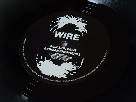 "Wire - Silk Skin Paws UK 12"" single label side A"