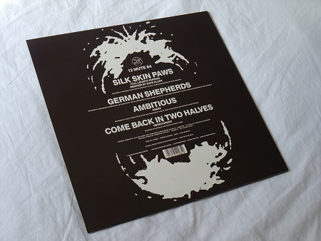"Wire - Silk Skin Paws UK 12"" single rear sleeve"