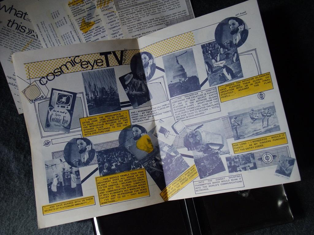 Fast Forward 008/009: Annual Report cassette magazine - booklet spread 8
