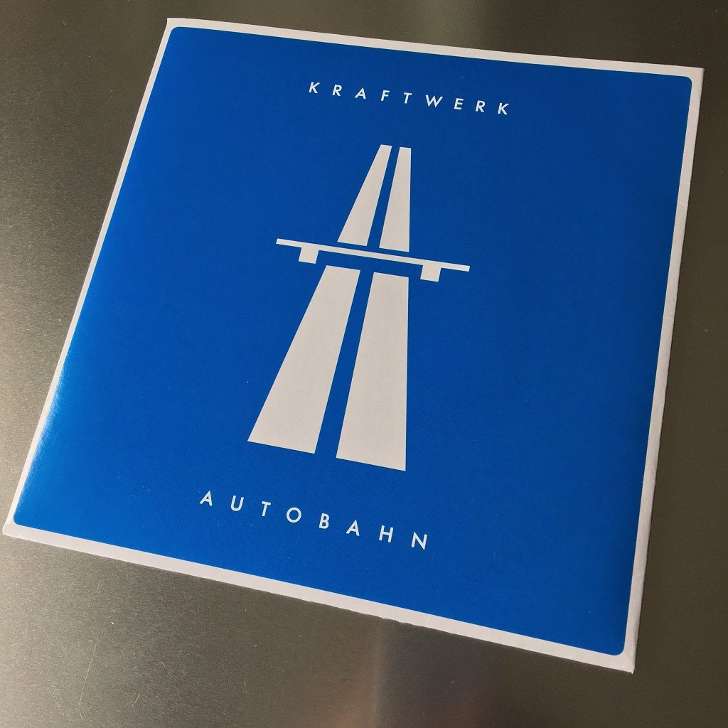"Kraftwerk - 'Autobahn' MusikExpress magazine German 7"" single front cover"