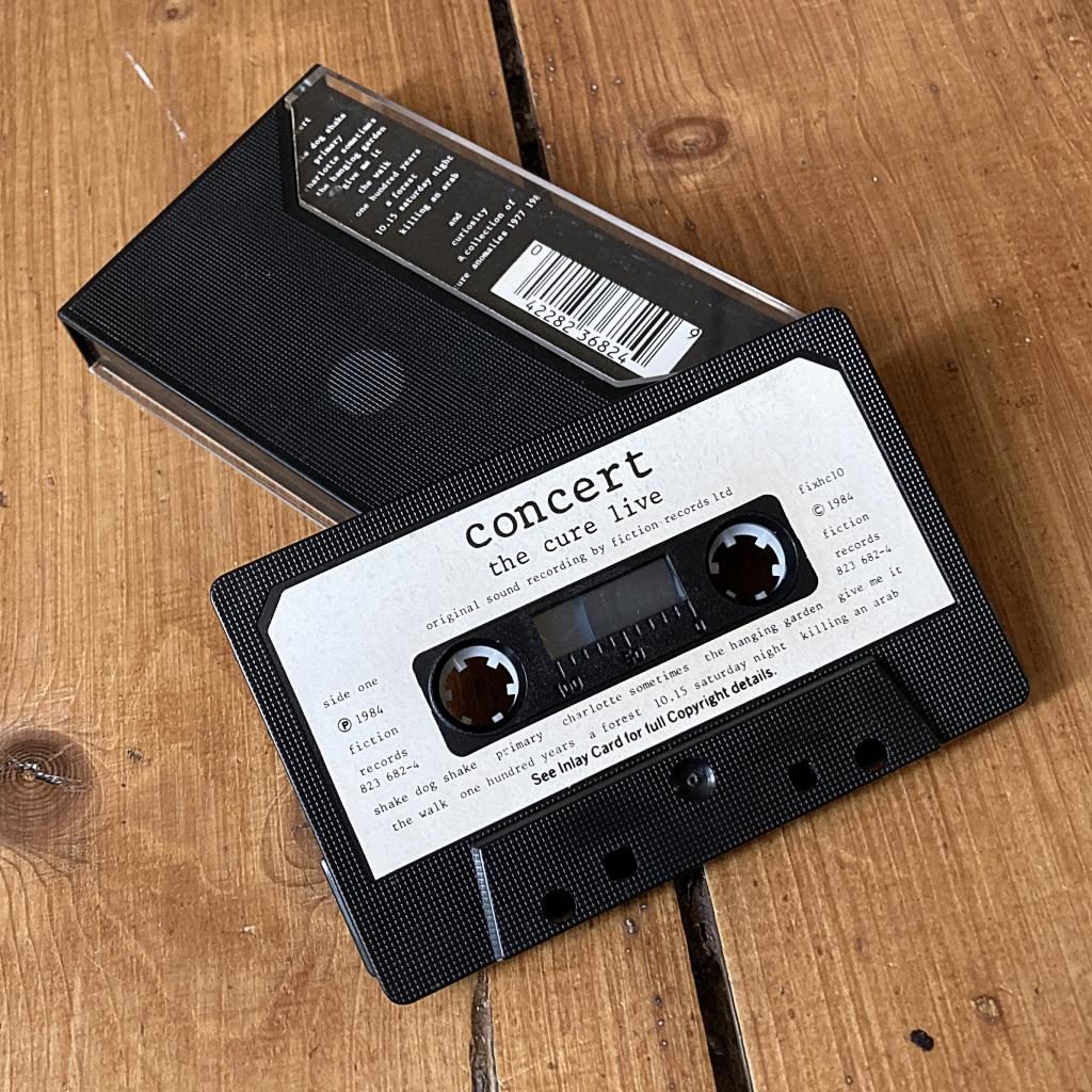 The Cure 'Concert and Curiosities' UK cassette side B