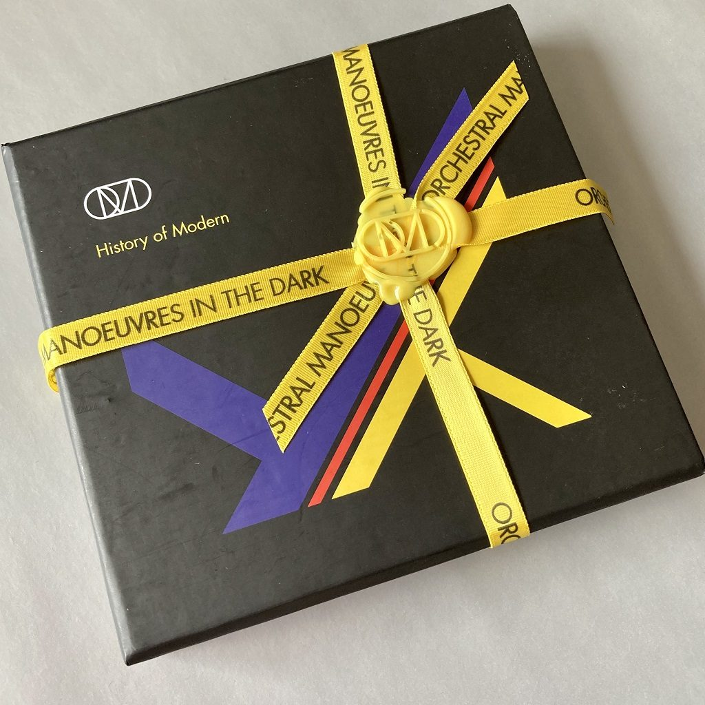Orchestral Manoeuvres in the Dark (OMD) - 'History of Modern' limited edition CD/DVD boxed set - front case