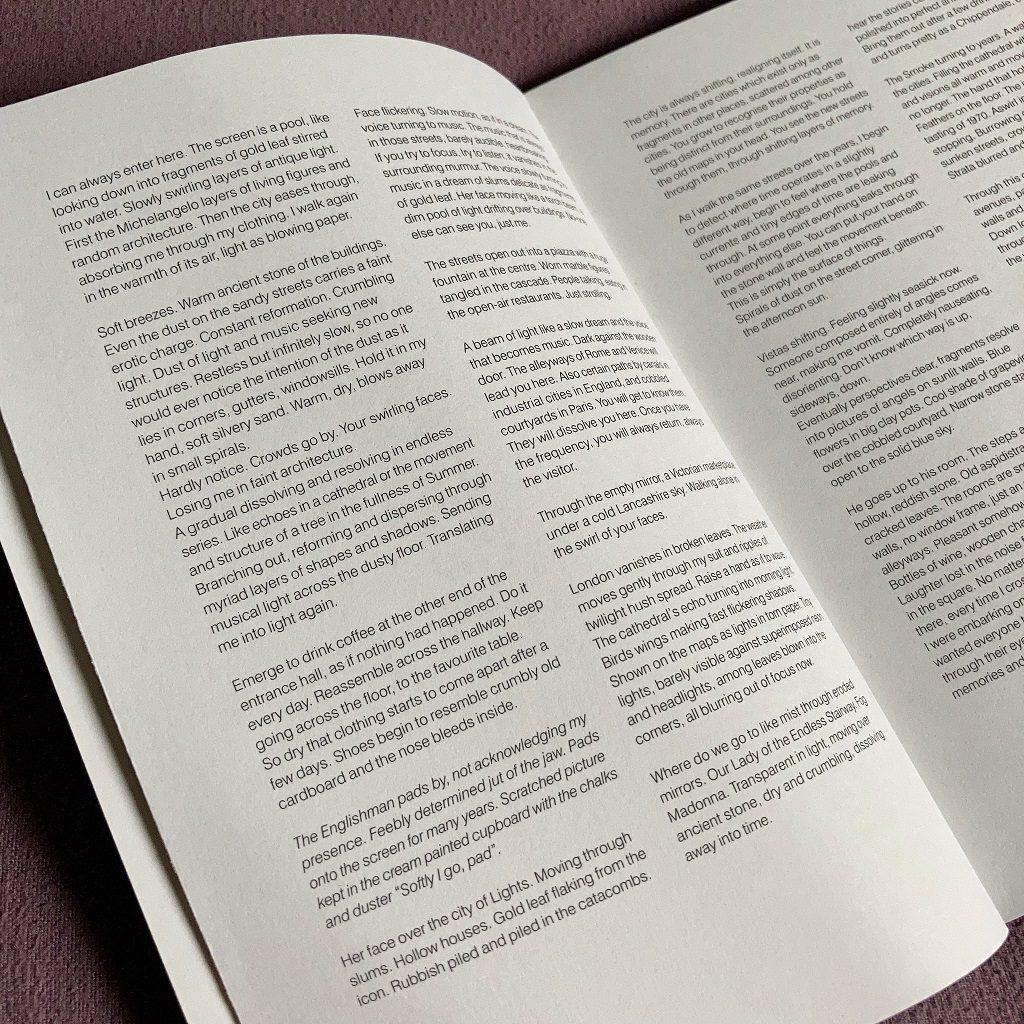 John Foxx 'Cathedral Oceans' excerpt 1