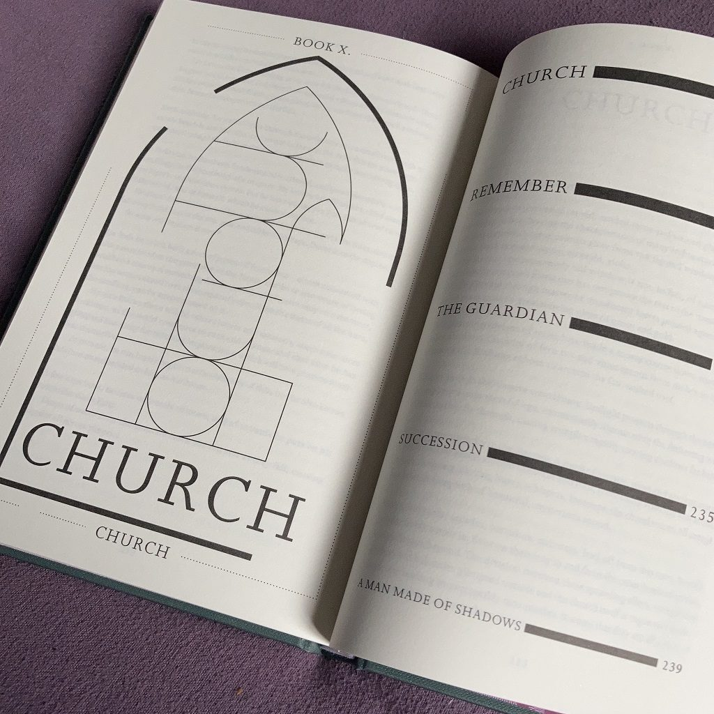 John Foxx 'The Quiet Man' - 'Church' spread