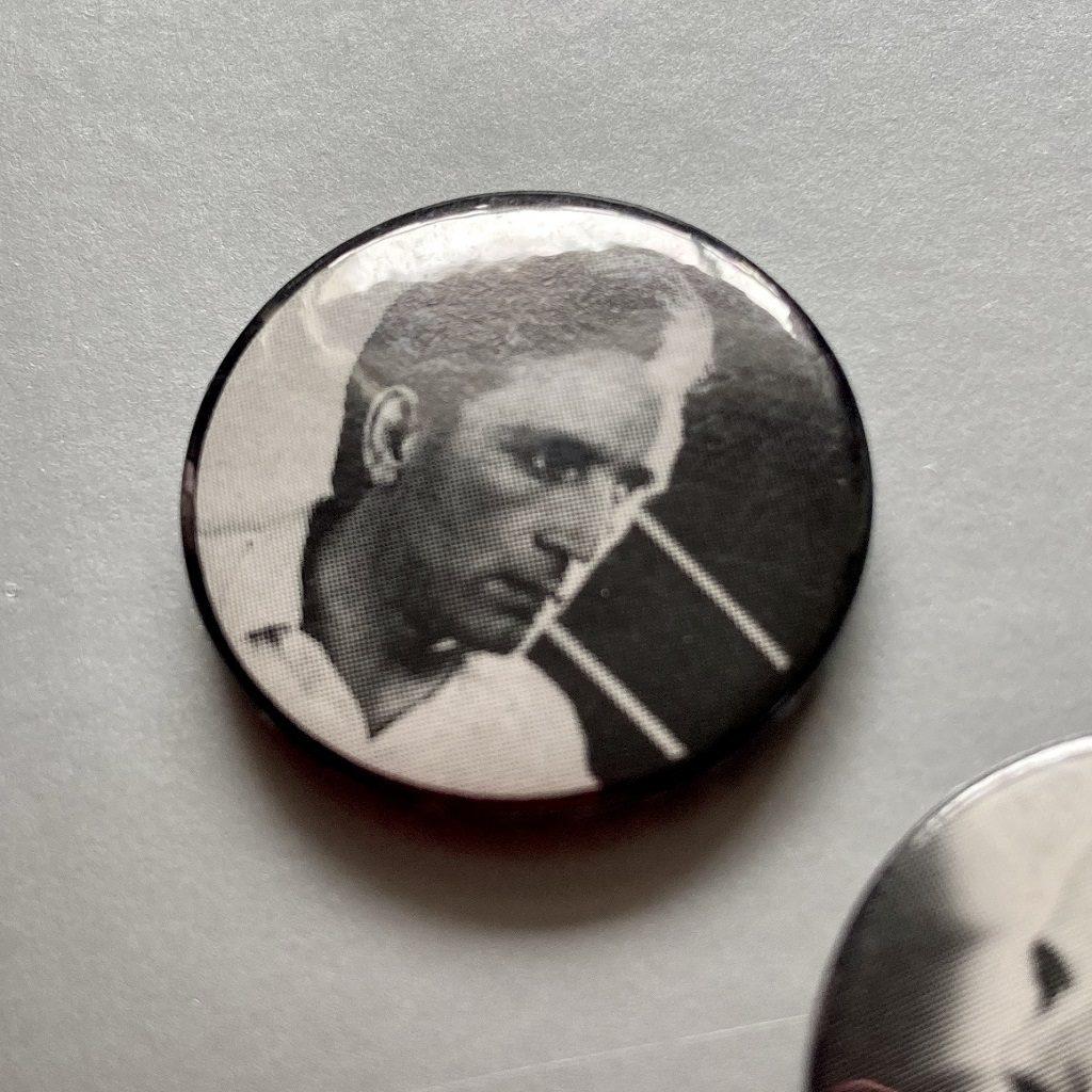 Ultravox 1981 Rage In Eden tour badge - Chris Cross