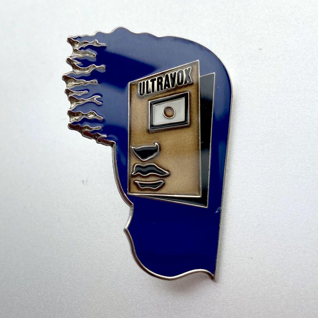 Ultravox 2009 'Return To Eden' enamel badge