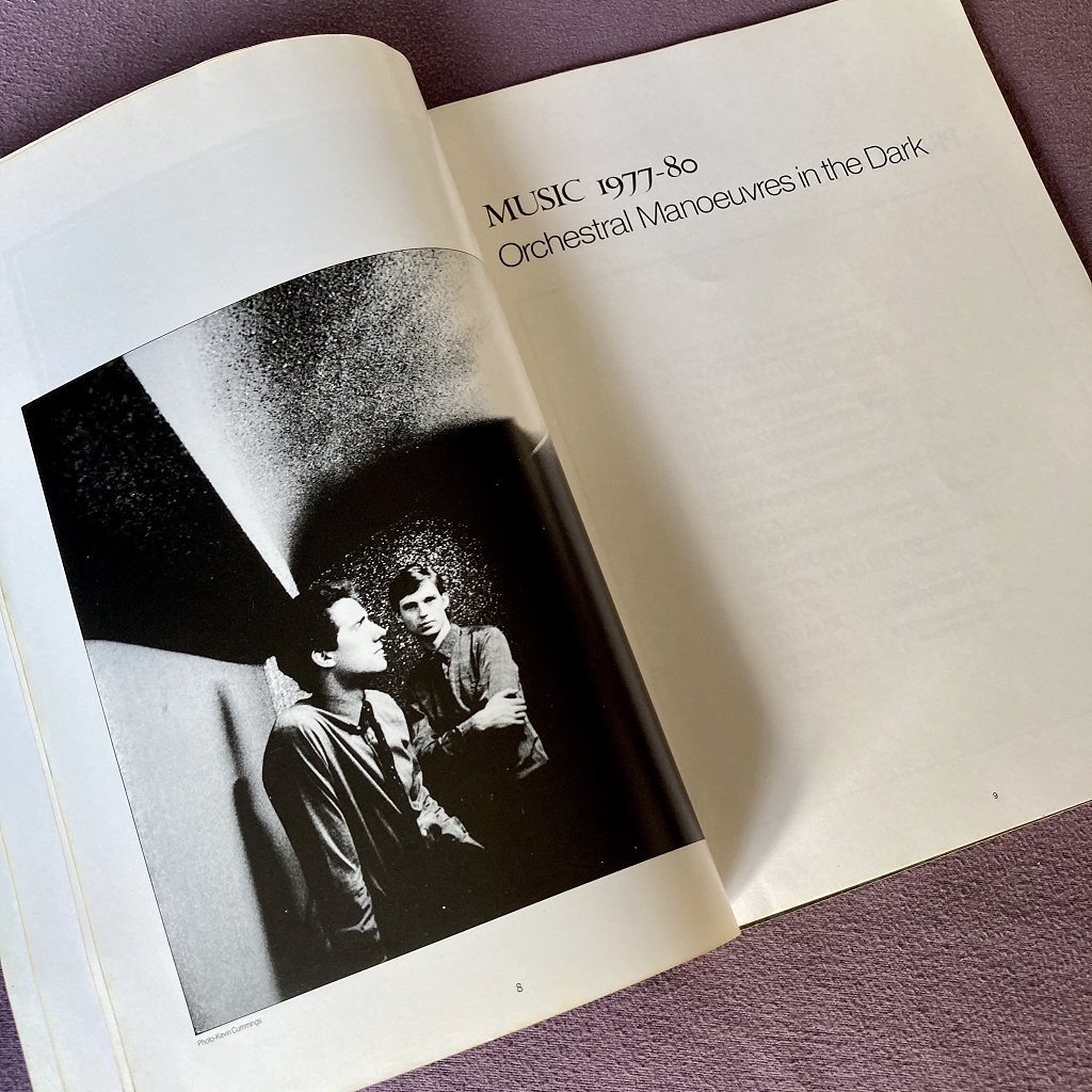 Orchestral Manoeuvres in the Dark: Music 1977-80 book excerpt 5