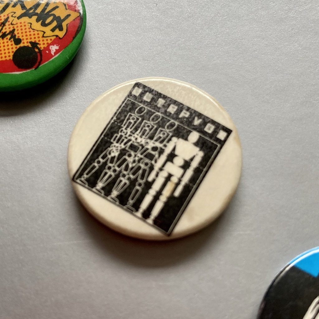 Ultravox - Three Into One era design badge