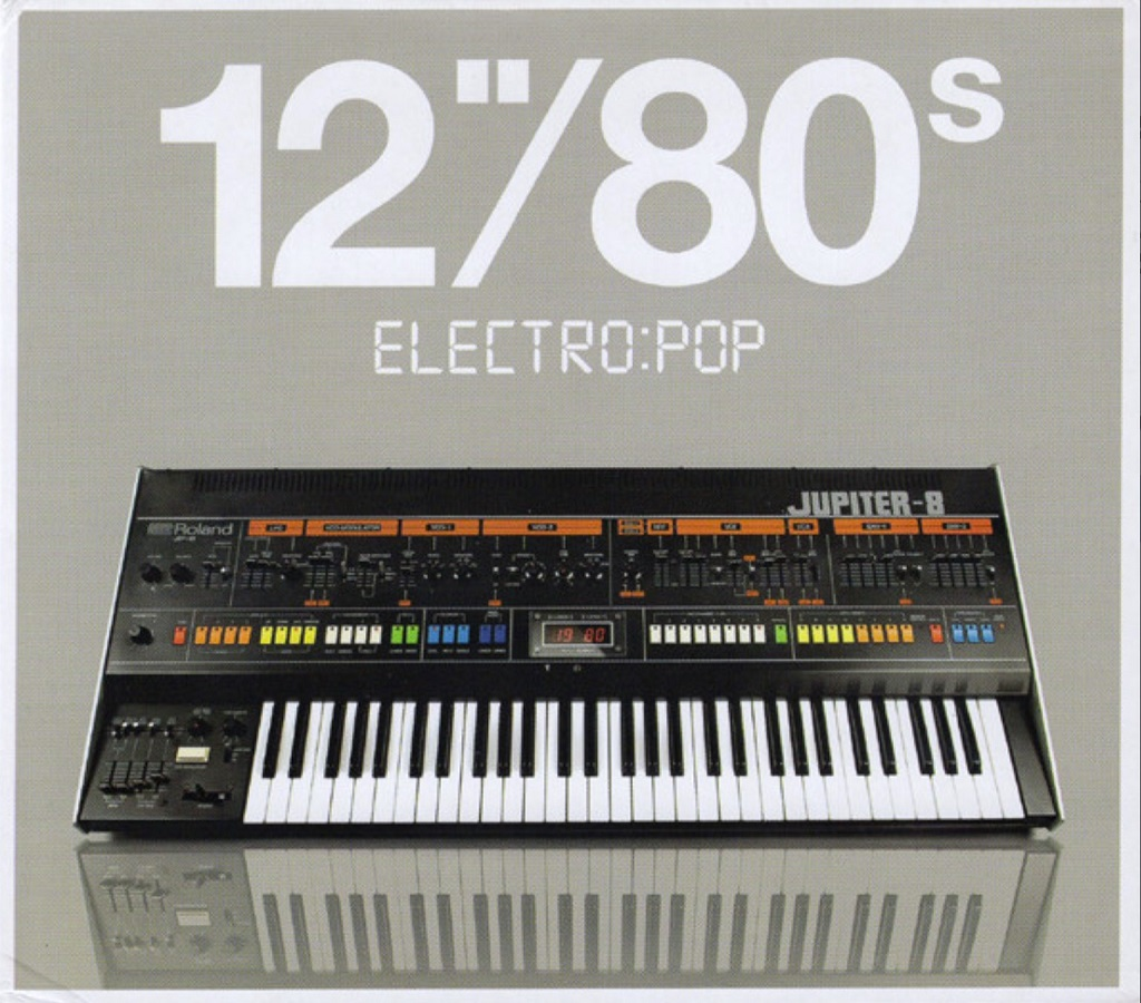 "'12""/80s Electro:Pop' various artists 3 x compilation CD"