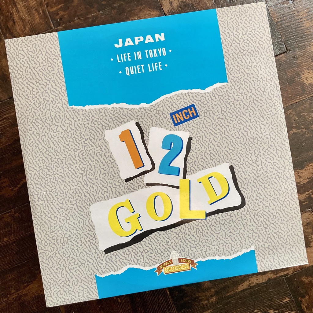 "The 1987 Old Gold label 12"" 'Life In Tokyo' / 'Quiet Life' release"