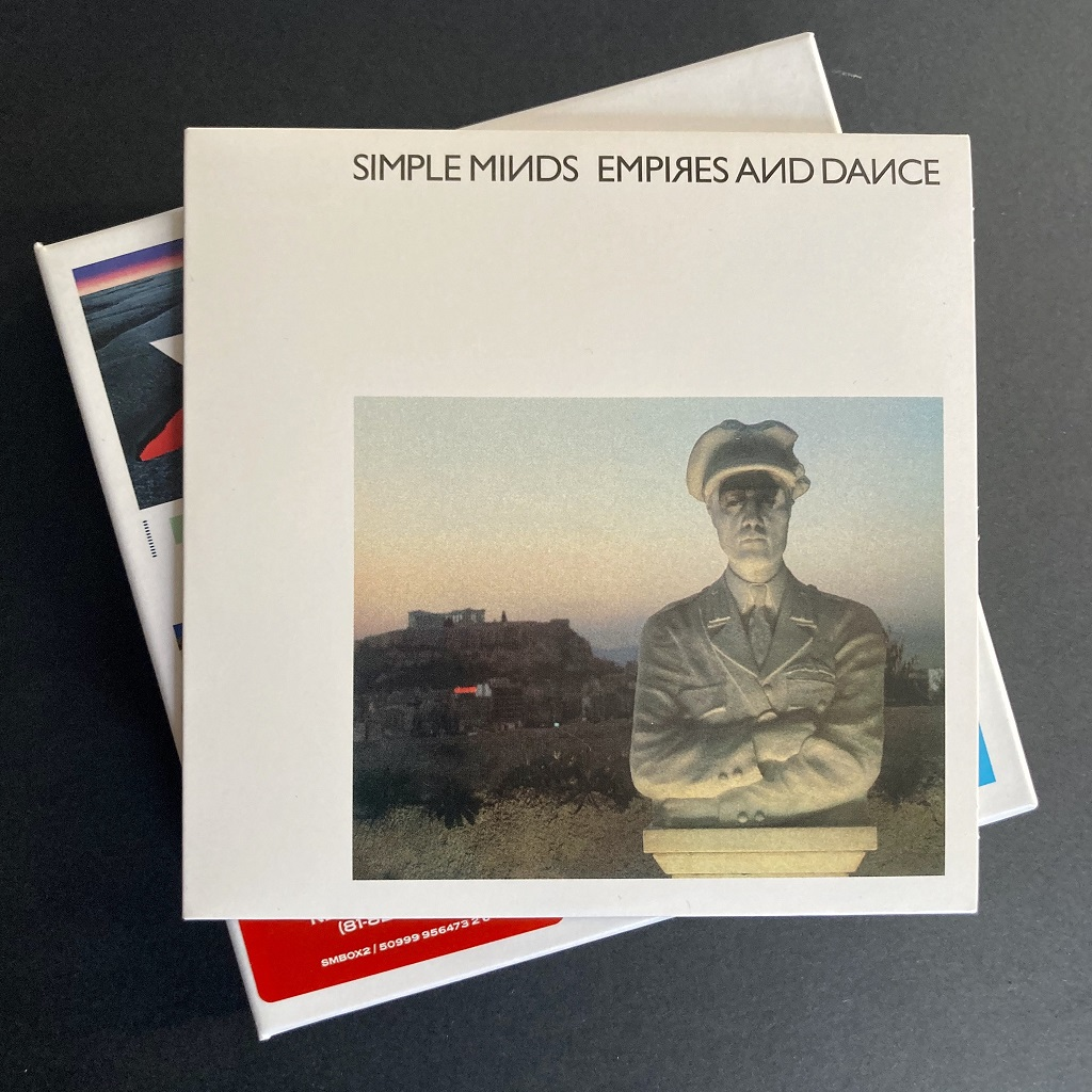 Simple Minds 'Empires and Dance' 'X5' CD Box Set edition - card sleeve front
