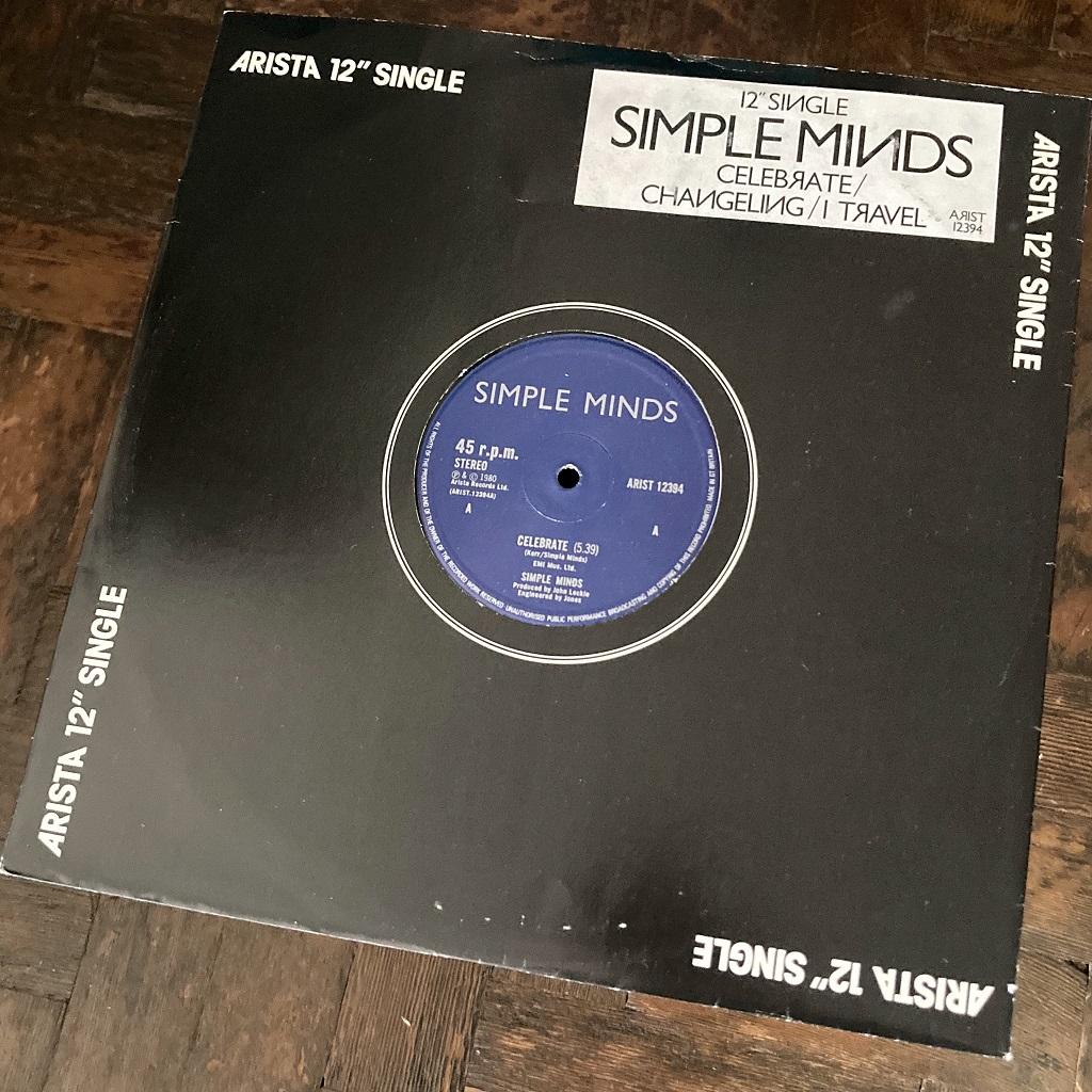 """Simple Minds - 'Celebrate' UK 12"""""""