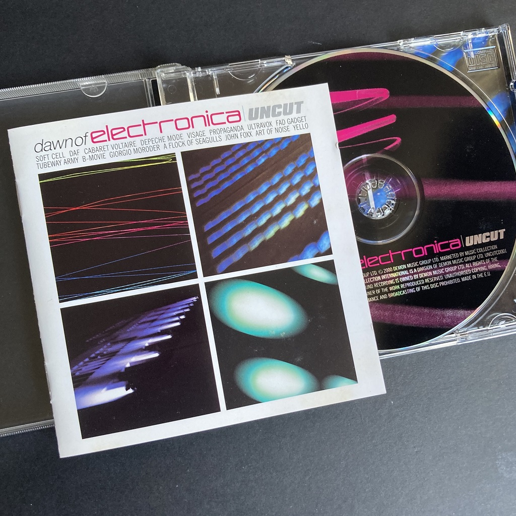Uncut magazine's cover-mount compilation CD 'Dawn Of Electronica'