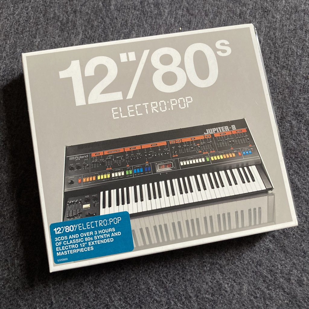 """12""""/80s Electrop:Pop compilation CD front cover"""