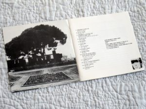 A.C.Marias - 'One Of Our Girls' Japanese CD - booklet inner spread 1