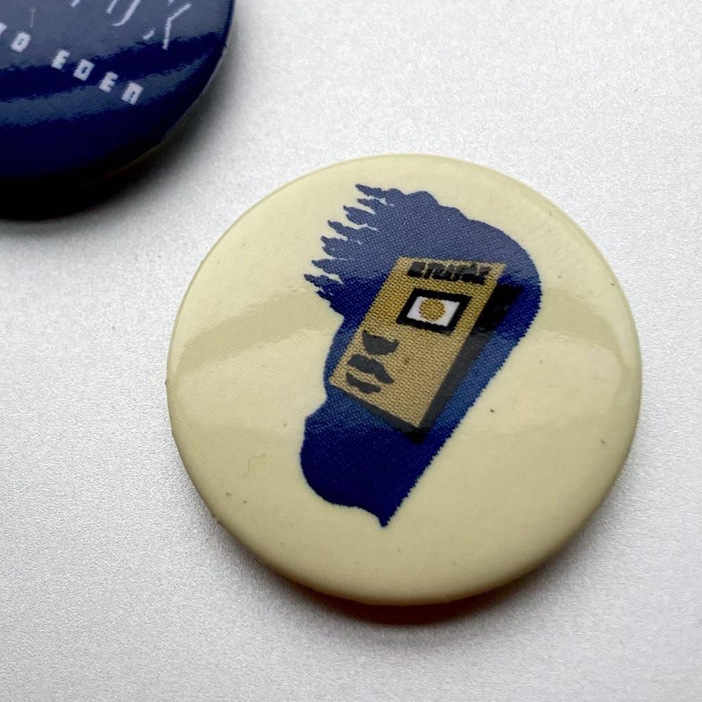 Ultravox 2009 'Return To Eden' button badge set - detail 4