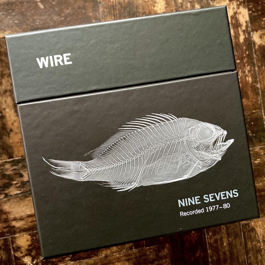 Wire - 'Nine Sevens' box set - front