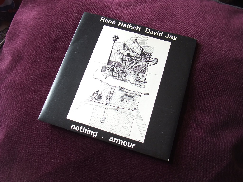 """Rene Halkett and David Jay - 'Nothing' / 'Armour' 7"""" front cover"""