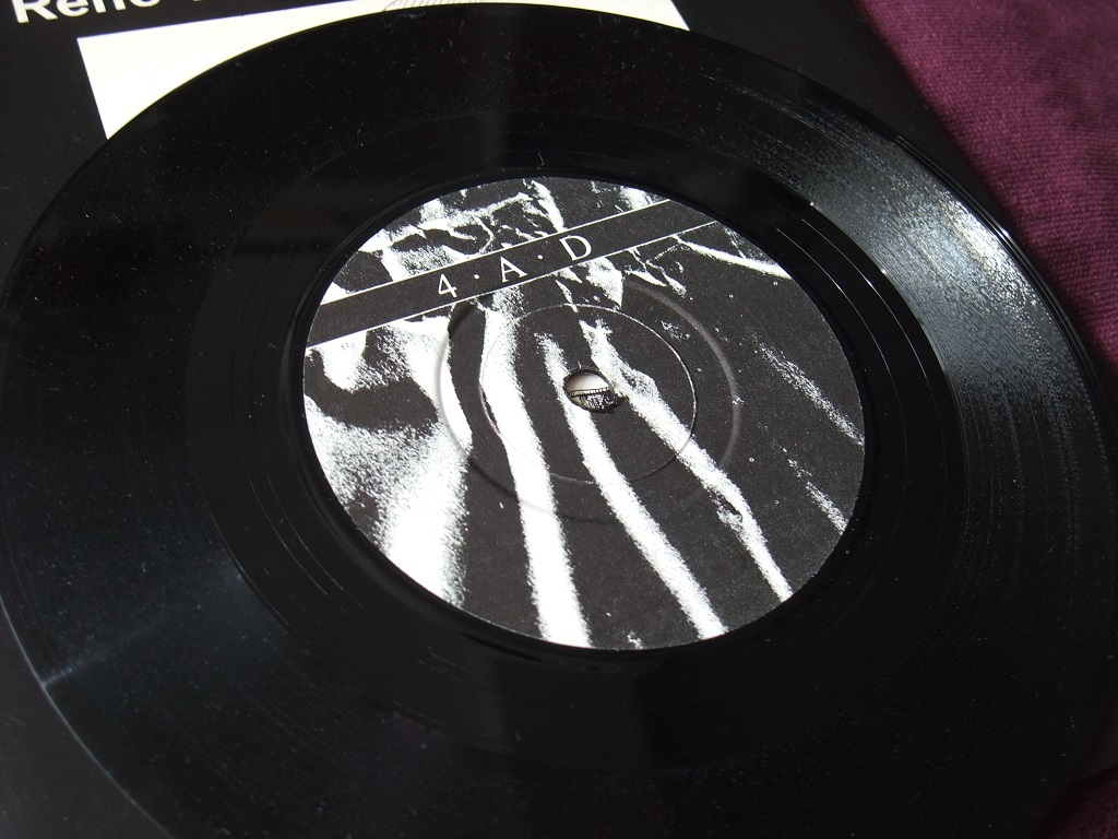 """Rene Halkett and David Jay - 'Nothing' / 'Armour' 7"""" label side 1"""