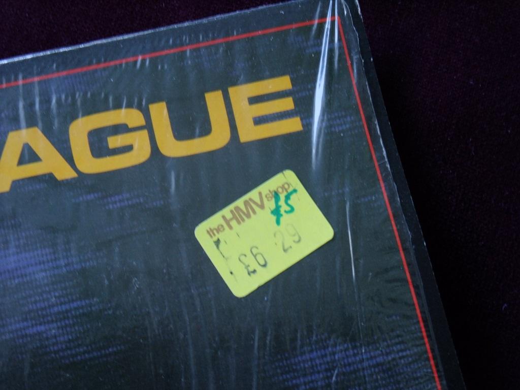 The Human League - 'Travelogue' Canadian LP - HMV price sticker