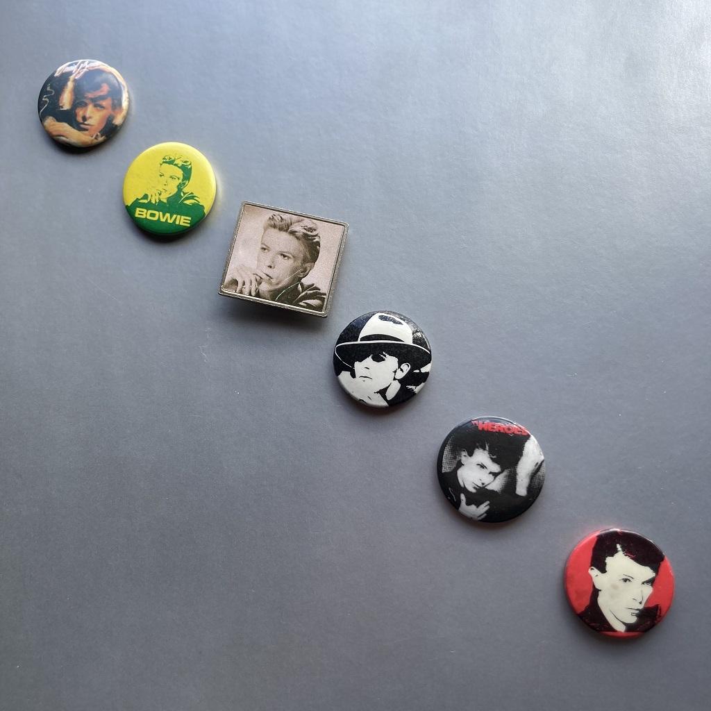 David Bowie - button badge selection 1
