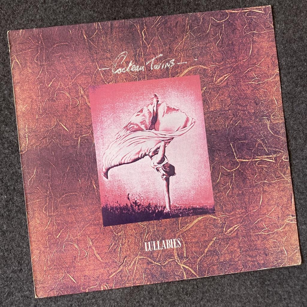 """Cocteau Twins 'Lullabies' UK 1982 12"""" EP front cover design"""