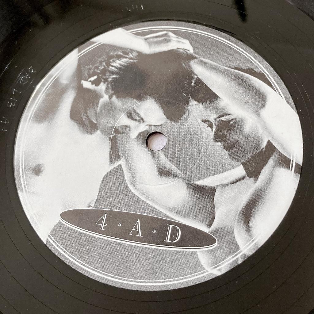 "Cocteau Twins 'Lullabies' UK 1982 12"" EP label design side 1"